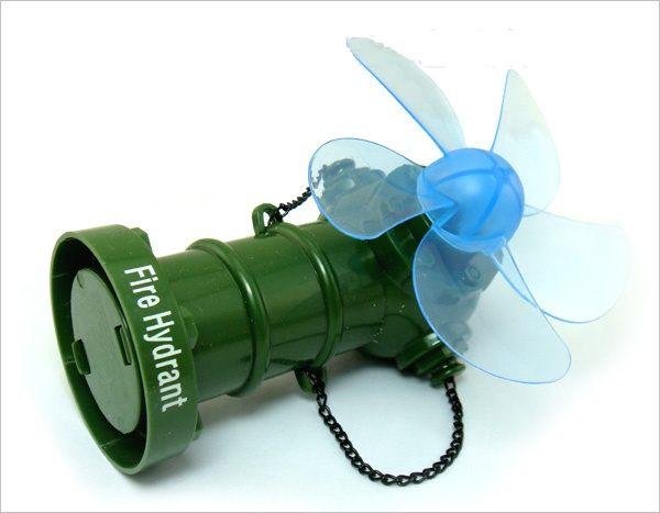 ※清涼一夏 No303 消防栓USB風扇 電風扇 風扇 桌扇 迷你風扇 小風扇 涼風扇 充電扇 電扇 造型風扇