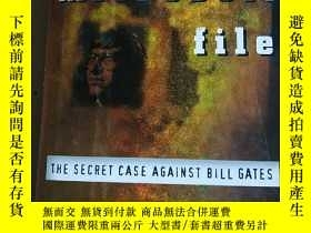 二手書博民逛書店the罕見microsoft file the secret c