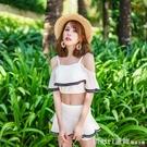 2020新款韓國分體二件套泳衣女 性感文藝甜美少女小清新平角泳裝 618購物節