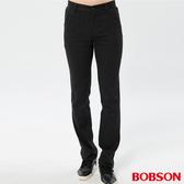 BOBSON 男款斜口袋彈性直筒褲(1176-87   )
