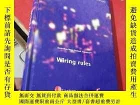 二手書博民逛書店Australian New罕見Zealand Standard Wiring rules:澳大利亚 新西兰标准布