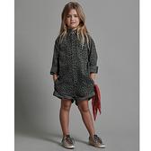 ONETEASPOON KIDS NIGHT CRAWLER BANDIT UTILITY JUMPSUIT  長袖連身短褲-豹紋(童)