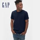 Gap男裝簡約風格圓領短袖T恤492343-海軍藍