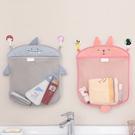 ♚MY COLOR♚卡通網狀儲物掛袋 浴室 雜物 收納 炫彩 置物 分類 洗漱 創意 透氣 兔子【M122】