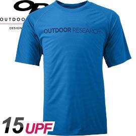 【Outdoor Research 美國 男款 MEN S Echo Graphic Tee 短袖排汗衣〈藍〉】244044/排汗衣/短袖