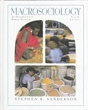 二手書博民逛書店 《Macrosociology: An Introduction to Human Societies》 R2Y ISBN:032101846X│Allyn & Bacon