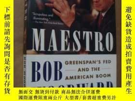 二手書博民逛書店MAESTRO:Greenspan s罕見fed and the