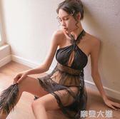情趣內衣服性感透視騷小胸激情套裝制服午夜魅力大尺碼蕾絲睡衣