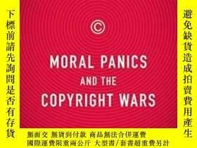二手書博民逛書店Moral罕見Panics And The Copyright WarsY256260 William Pat
