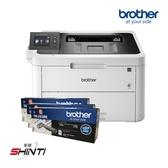 【搭TN263原廠黑3支】Brother HL-L3270CDW 彩色雙面無線雷射印表機 另有L3750CDW