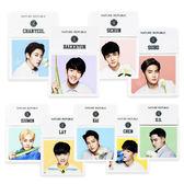 韓國 Nature Republic EXO版吸油面紙盒(內附鏡子) 50片/盒 多款可選/EXO代言 ◆  86小舖 ◆