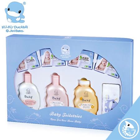 金寶貝 KUKU 酷咕鴨 有機溫和 嬰兒 沐浴 禮盒【25474】KU1061