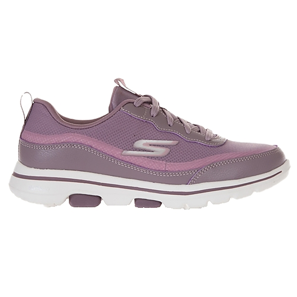 SKECHERS 女健走系列GOWALK 5 良好的穩定支撐與避震緩衝 124228MVE 粉紫