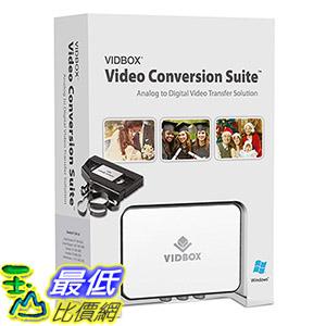 [107美國直購] VIDBOX 視頻採集套裝 VIDBOX Video Conversion Suite