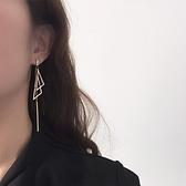 耳環 時尚耳環2021年新款潮圓臉顯瘦耳夾無耳洞耳飾女氣質長款網紅耳墜