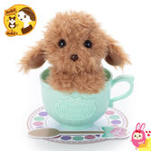 Hamee 日本 MimicryPet 茶杯寵物 可動回聲玩偶 絨毛娃娃 鳴聲寵物 迴聲 紅貴賓狗 287190
