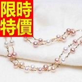 珍珠項鍊 單顆8-9mm-生日情人節禮物新款經典款女性飾品53pe27【巴黎精品】