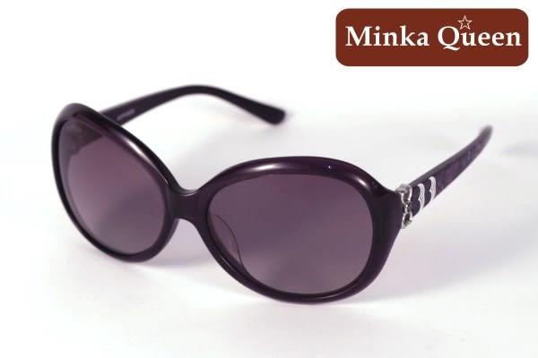 Minka Queen 浪漫深紫框(抗UV400鏡片)流行時尚百搭偏光太陽眼鏡