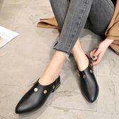【618好康又一發】女春季粗低跟鉚釘鞋