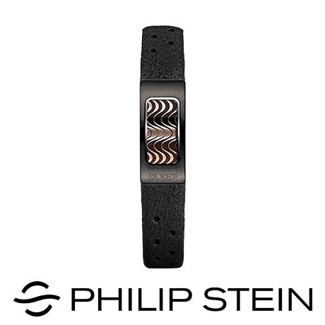 【Philip Stein】翡麗詩丹睡眠手環-【優雅黑】運動手環/能量手環