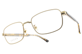 GUCCI光學眼鏡 GG0190O 002 (金-琥珀棕) 歐風復古雕刻款 # 金橘眼鏡
