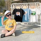 男童T恤 男童純棉短袖T恤夏裝夏季嬰兒童裝寶寶1歲3上衣半袖小童潮薄X2373【快速出貨】