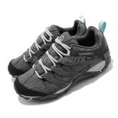 Merrell 戶外鞋 Alverstone GTX 灰 黑 女鞋 運動鞋 越野 Gore-Tex 防水 【ACS】 ML034588