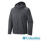 Columbia 男 OT單件式防水外套-灰色 【GO WILD】