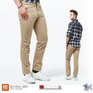 【NST Jeans】乾淨陽光男孩 卡其休閒長褲(歐系修身小直筒) 380(5762) 夏季薄款
