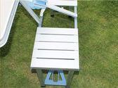 戶外折疊桌便攜式鋁合金連體桌椅套裝野餐