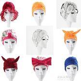 時尚新款長發女士PU布護耳成人學生可愛蕾絲兔耳朵游泳帽  朵拉朵衣櫥