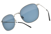 CARIN 太陽眼鏡 DERK C2 (銀-藍鏡片) 韓星秀智代言 率性簡約百搭款 # 金橘眼鏡