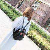 個性炫酷潮流男童雙肩包日韓時尚女童后背包外出旅行包書包 優樂居生活館