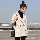 西裝外套 網紅小西裝外套女韓版英倫風黑色西服套裝2020春秋設計感小眾上衣 618購物節