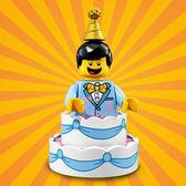 樂高LEGO Minifigures 18 派對主題 人偶組 生日蛋糕裝男孩 拆袋檢查全新販售 71021 TOYeGO 玩具e哥