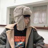 帽子男士潮韓版保暖戶外防寒雷鋒帽男基礎東北加厚加絨女冬季騎車 韓國時尚週