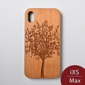 Woodu 木製手機殼 永生樹 iPhone XS Max適用