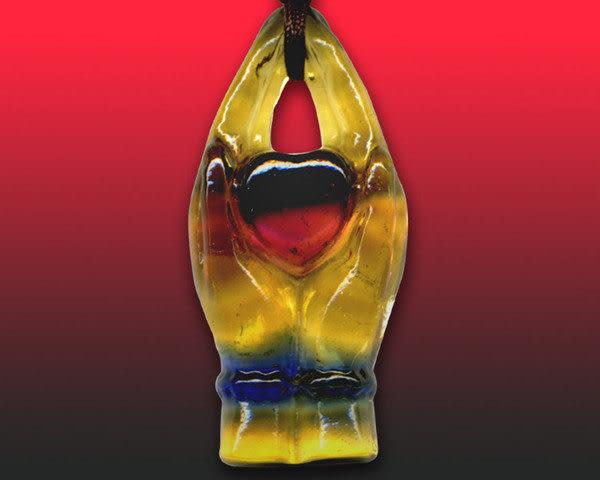 鹿港窯~居家開運水晶琉璃項鍊~最愛 附精美包裝◆免運費送到家