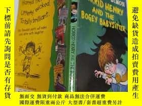 二手書博民逛書店Horrid罕見Henry And The Bogey Babysitter:可怕的亨利和那個可怕的保姆. Y