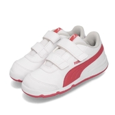 Puma 復古慢跑鞋 Stepfleex 2 SL VE V INF 白 粉橘 童鞋 小童鞋 魔鬼氈 【ACS】 19252309