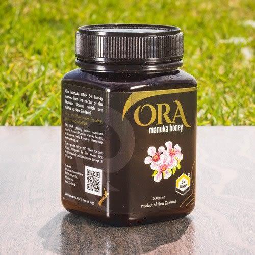 紐西蘭 ORA 麥蘆卡蜂蜜(Manuka Honey) UMF 5+ 500公克