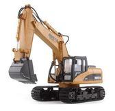 電動挖掘機玩具遙控挖掘機大號合金充電動無線挖土機 全館免運igo