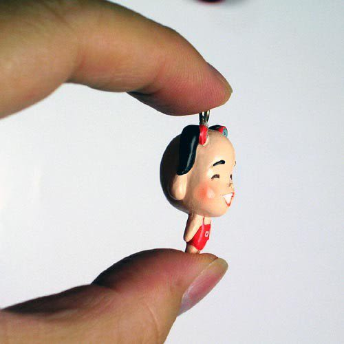 【無敵珊寶妹】福氣三太子系列招福商品 - 鑰匙吊飾