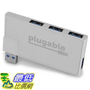 [美國直購] Plugable LYSB01N47J1GA-ELECTRNCS 集線器 Rotating 4-Port USB 3.0 Mini Travel Hub