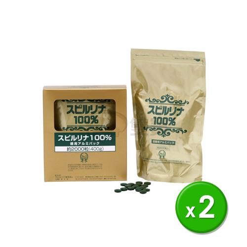 營養品 會昌-螺旋藻錠2000錠/ 2袋(日本原裝進口)