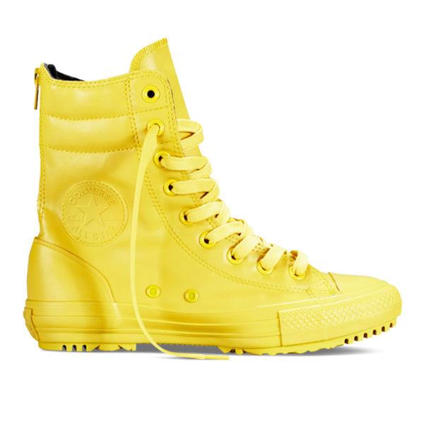 【GT】Converse Hi-Rise Boot Rubber 黃 女鞋 高筒 皮革 雨鞋 雨靴 短靴 靴子 現貨 休閒鞋 549589C