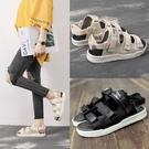 涼鞋 越南涼鞋女仙女風夏季新款新款平底網紅百搭簡約正韓學生運動涼鞋