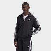 ADIDAS 外套 CLOTHING FIREBIRD TRACK 黑 立領 三線外套 連帽外套 男(布魯克林) GF0213