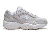 New Balance 女款灰白色厚底增高運動休閒鞋-NO.WX452KO1