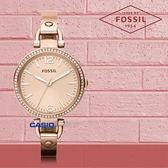 FOSSIL 手錶 專賣店 ES3226 女錶 石英錶 玫瑰金不鏽鋼錶帶  防水 防刮礦物  全新品 保固一年 開發票